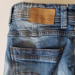Mens Blue/Navy EDC Jeans